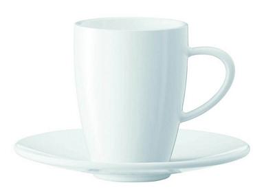 Tasses à expresso Jura  - lot de 6 tasses + sous-tasses