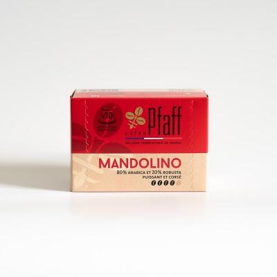 10 capsules MANDOLINO compatibles Nespresso®*