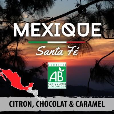 Café en grain BIO Mexique - Santa Fé