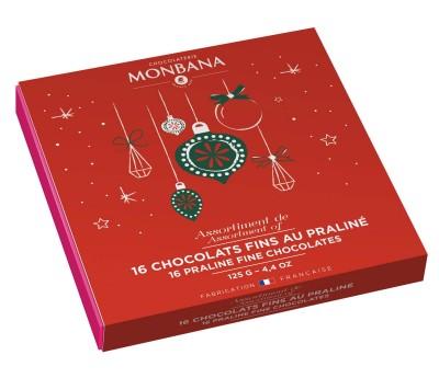 Coffret de chocolats fins - Monbana