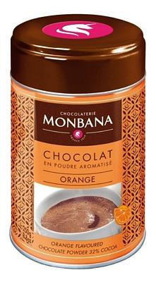 Chocolat en poudre aromatisé Orange