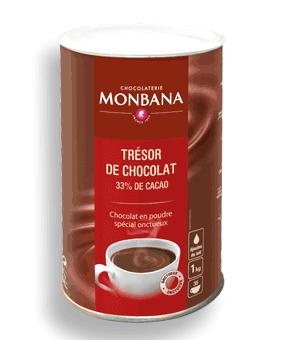 Trésor de chocolat (Boîte de 1Kg)