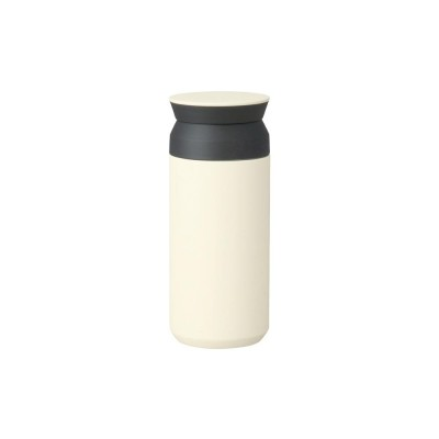 Mug de voyage 350ml (blanc-rouge-bleu) - travel tumbler Kinto