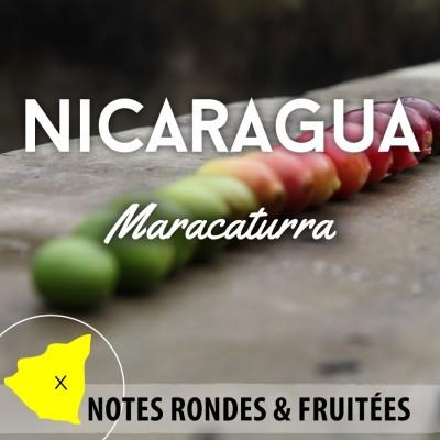 Café en grain Nicaragua - Maracaturra