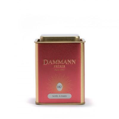 Thé noir Noël à Paris Dammann Frères - Boite métal 90g