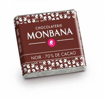 Boîte de napolitains chocolat noir x200  - MONBANA