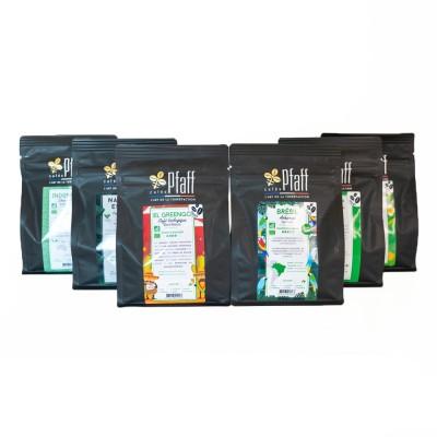 Assortiment café :  Nos cafés biologiques 6 horizons
