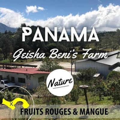 Café en grain PANAMA - Geisha - Beni's Farm - Nature