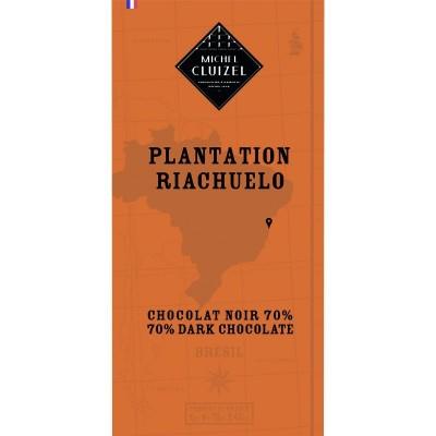 Tablette Plantation Riachuelo 70% chocolat noir  - Chocolatier Cluizel