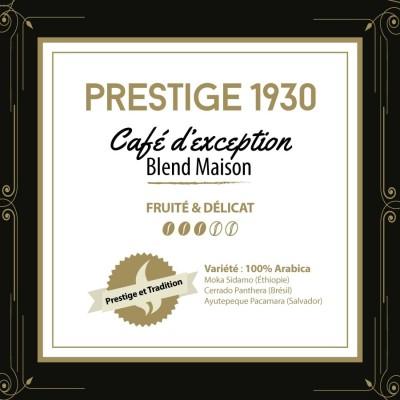 Café en grain BLEND MAISON - Prestige 1930 - fèves géantes