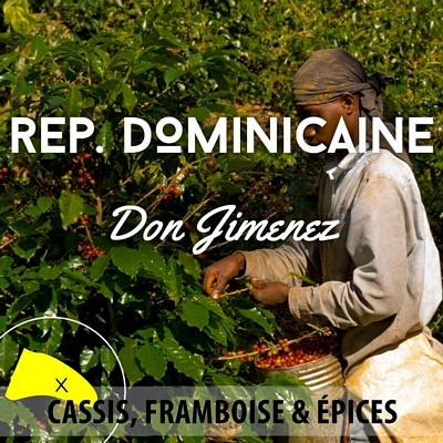 Café SAINT DOMINGUE - Don Jimenez - café moulu