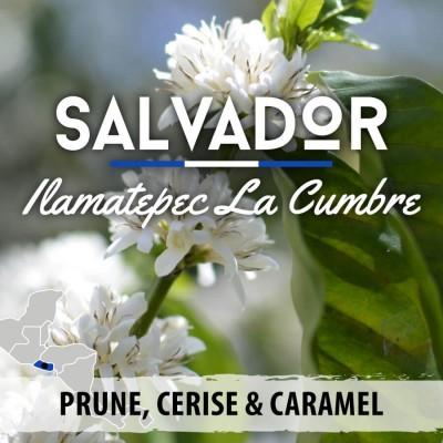 Café en grain Salvador - Ilamatepec - La Cumbre