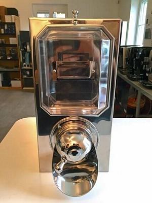 Silo à café  - finition inox  - capacité 4,5 kg