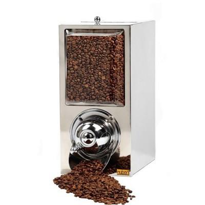 Silo à café - finition inox - capacité 4 kg