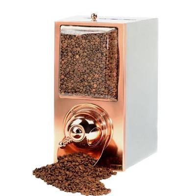 Silo à café - finition cuivre - capacité 4 kg
