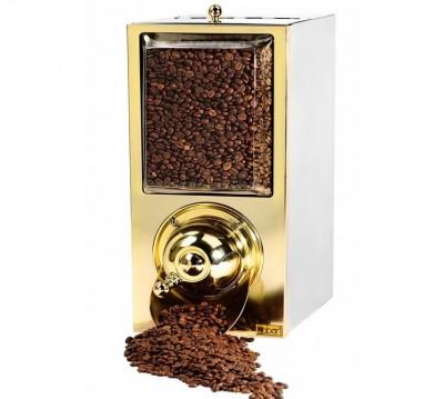 Silo à café - finition laiton - capacité 4 kg