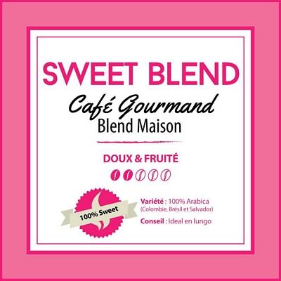 Café en grain BLEND MAISON - Sweet Blend