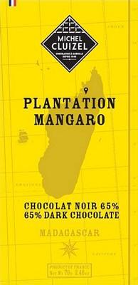 Tablette Mangaro noir 65% - 1ers Crus de Plantation  - chocolatier Cluizel