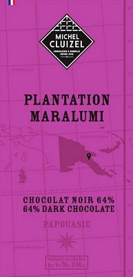 Tablette Maralumi noir 64% - 1ers Crus de Plantation  - chocolatier Cluizel