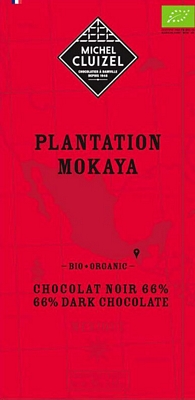 Tablette Mokaya 66% BIO - 1ers Crus de Plantation  - chocolatier Cluizel