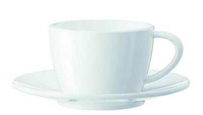 Tasses à cappuccino Jura  - lot de 2 tasses + sous-tasses