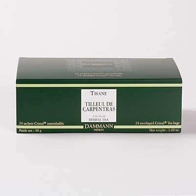 Tilleul, 24 sachets Cristal suremballés