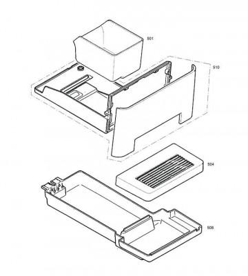 Un tiroir complet pour JURA EAN Micro 5