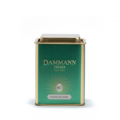Christmas Tea vert Dammann Frères - Boite métal 80g