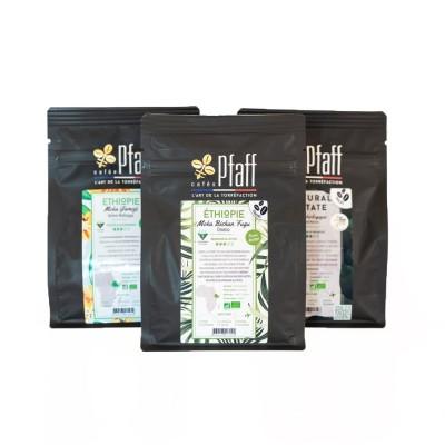 Assortiment café : Trio de cafés de forêt