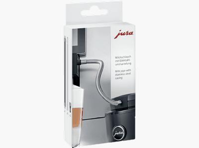 Tuyau à lait en Inox HP1 pour machine Jura (Sauf Giga)