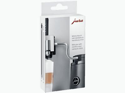 Tuyau à lait en Inox HP2 pour machine Jura Giga