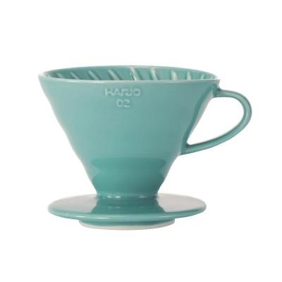 Dripper V60 - VDC-02 - Turquoise - Hario