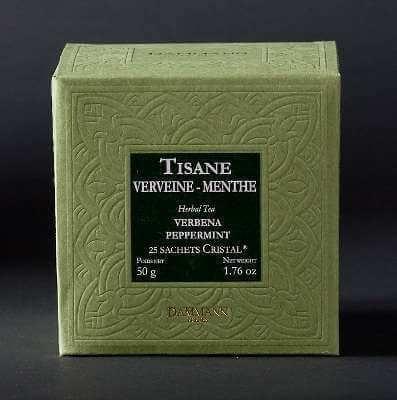 Verveine-Menthe - boite de 25 sachets